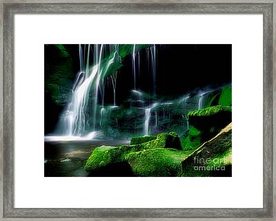 Beauty Of West Virginia Framed Print by Darren Fisher