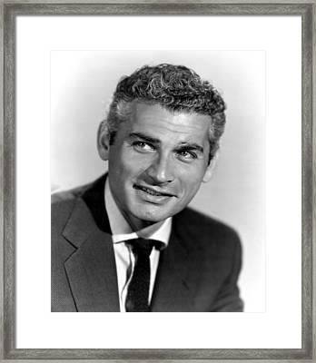 Because Of You, Jeff Chandler, 1952 Framed Print by Everett