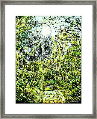 Become What We Are Meant To Be Framed Print by Paulo Zerbato