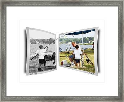 Becoming A Happier Day Framed Print by Brian Wallace