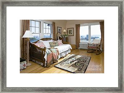 Bedroom Framed Print by Andersen Ross