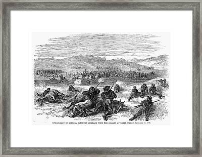 Beecher Island, 1868 Framed Print by Granger