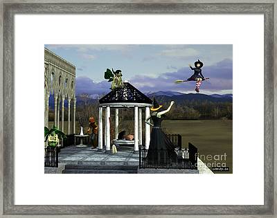 Before Dorothy Came To Oz Framed Print by Methune Hively