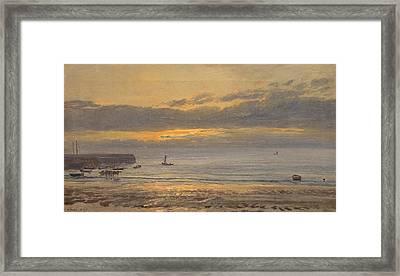 Before Sunrise Framed Print by Henry Moore