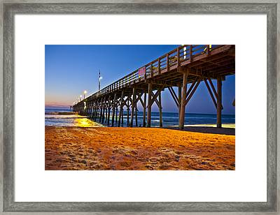 Before The Sun Framed Print by Betsy C Knapp