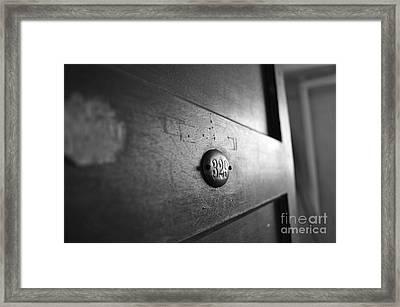 Behind Door No. 329 Framed Print by Luke Moore