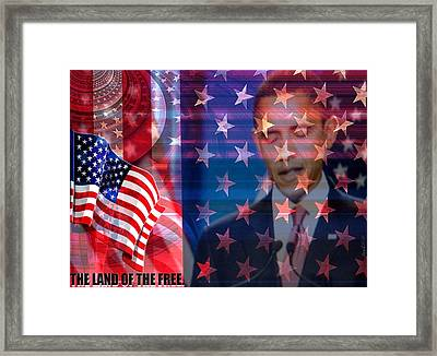 Behind The Dream Framed Print by Fania Simon