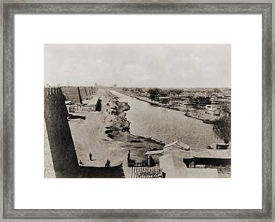 Beijing End Of The Chinas Ancient Grand Framed Print by Everett