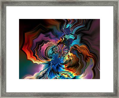 Being Transformed Framed Print by Claude McCoy