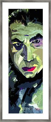 Bela Lugosi Dracula Portrait Framed Print by Ginette Callaway