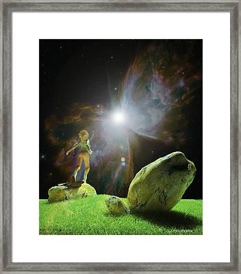Believe Framed Print by Williem McWhorter