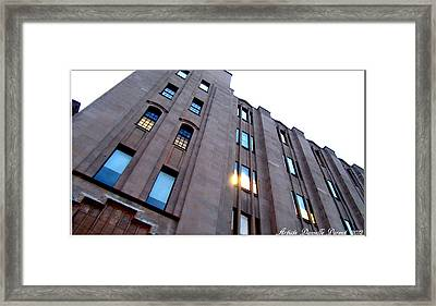 Bell Building Framed Print by Danielle  Parent