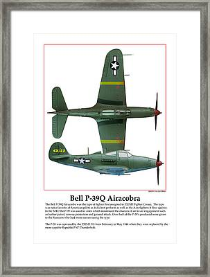 Bell P39q Airacobra Framed Print by Jerry Taliaferro