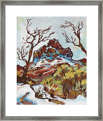 Bell Rock 3 Framed Print by Sandy Tracey