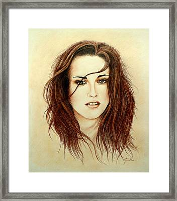 Bella Framed Print by Lena Day