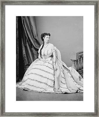 Belle Boyd 1844-1900, Was A Confederate Framed Print by Everett