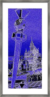 Bellingham Blues Framed Print by Randall Weidner
