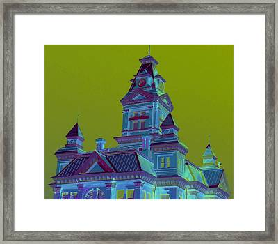 Bellingham Old City Hall Framed Print by Randall Weidner