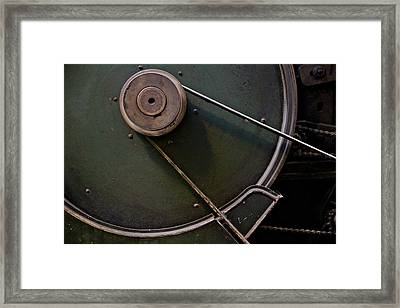 Belt Drive Framed Print by Odd Jeppesen