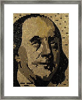 Ben Franklin Framed Print by Doug Powell