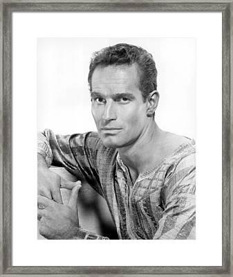 Ben-hur, Charlton Heston, 1959 Framed Print by Everett