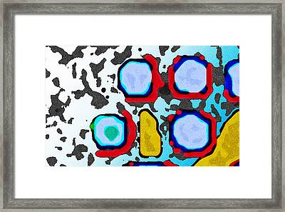 Beneath The Surface Framed Print by Jimi Bush