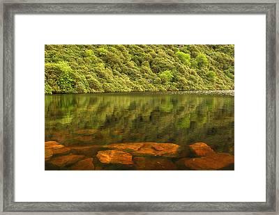 Beneath The Water Framed Print by Joe Ormonde