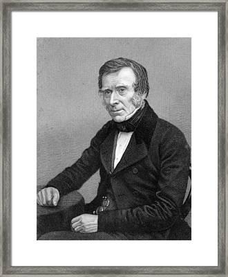 Benjamin Brodie, British Surgeon Framed Print by