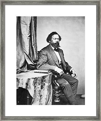 Benjamin S Turner Framed Print by Mathew Brady