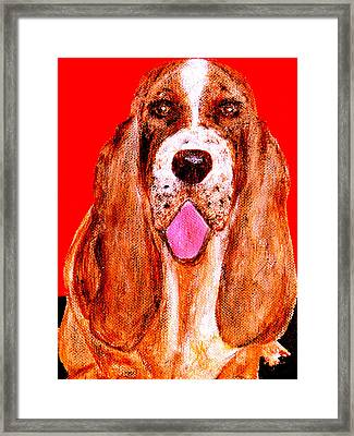 Benny Boy Framed Print by Forartsake Studio