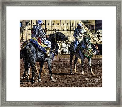 Berbers Morocco Framed Print by Chuck Kuhn