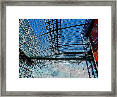 Berlin Central Station ...  Framed Print by Juergen Weiss