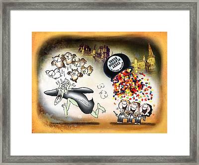 Bertie Bott's Beans Framed Print by Mark Armstrong