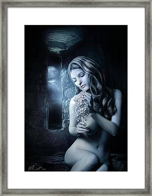 Beside The Window Framed Print by Svetlana Sewell