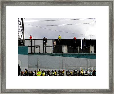 Best Seats In The House Framed Print by Al Bourassa