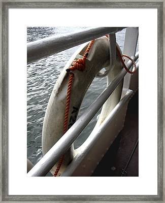 Hong Kong Framed Print featuring the photograph Better Safe by Roberto Alamino
