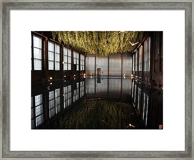 Between Heaven And Earth Framed Print by Pat Purdy