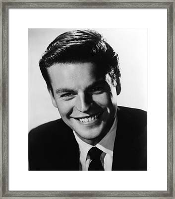 Between Heaven And Hell, Robert Wagner Framed Print by Everett