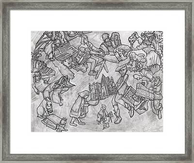 Bewitched Framed Print by Bobby Fontaine
