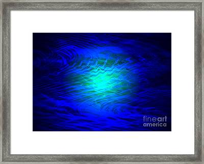 Beyond - Abstract Art Framed Print by Carol Groenen