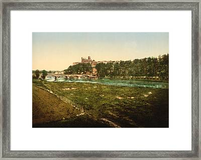 Beziers - France Framed Print by International  Images