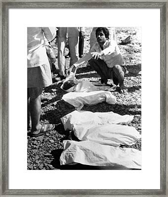 Bhopal Disaster Victims, India, 1984 Framed Print by Ria Novosti