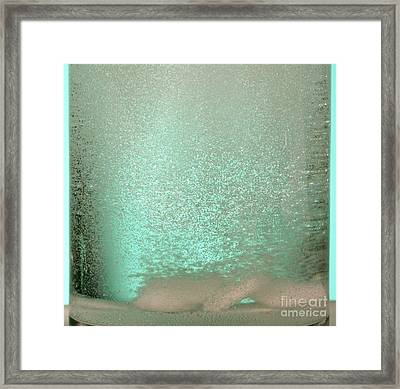 Bicarbonate Of Soda Tablets Framed Print by Photo Researchers, Inc.