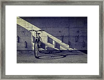 Bicycle Framed Print by Joana Kruse