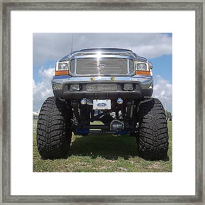 Big As You Want It Framed Print by Steve Sperry