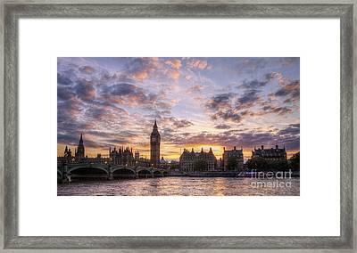 Big Ben London Framed Print by Lee-Anne Rafferty-Evans