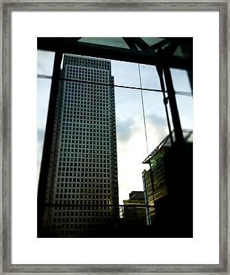 Big City Framed Print by Holly Georgina McQuoid