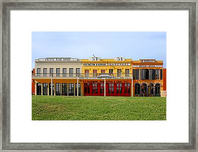 Big Four Building Sacramento California Framed Print by Christine Till