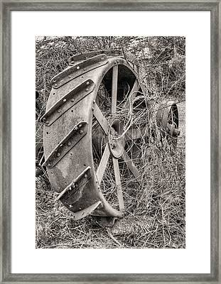 Big Iron Framed Print by JC Findley