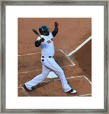 Big Papi Framed Print by Judd Nathan